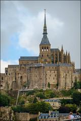 Scaffolding - Mont-St-Michel