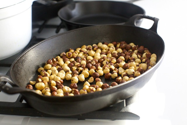well-toasted hazelnuts