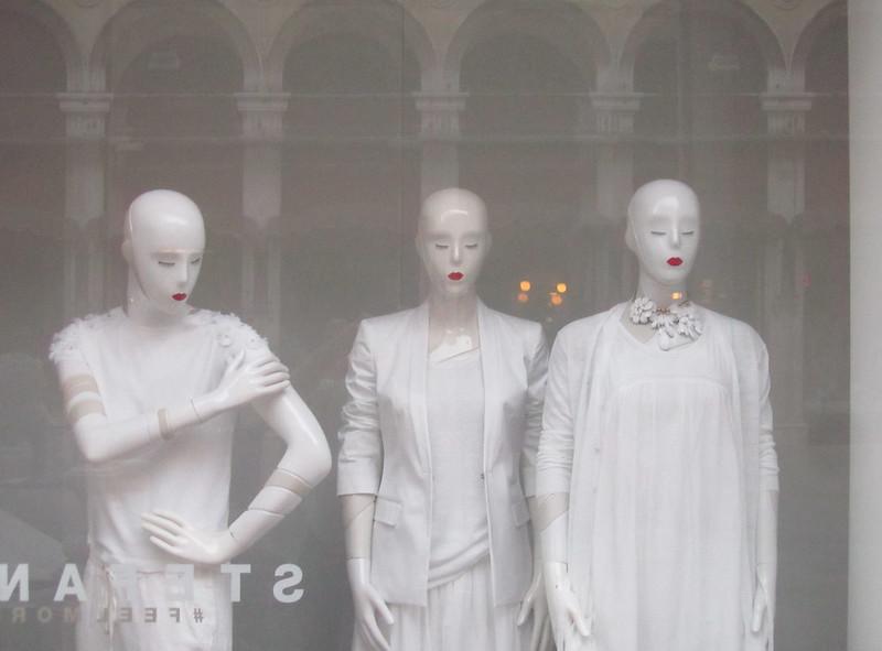 Tres maniquís de Venecia