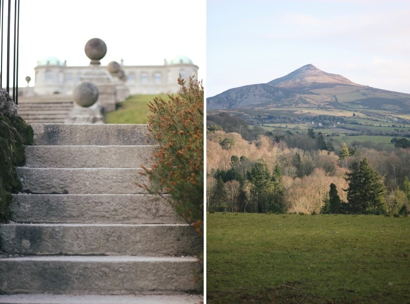 powerscourt house + sugar loaf