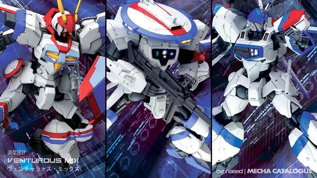 Chara Hobby 2014 C3 x Hobby - Venturous MIX 1/144 Dragonar Resin Kits
