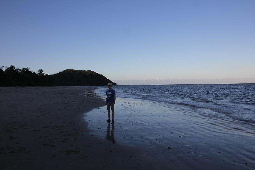 cape tribulation, myall beach, masons creek, ocean safari, daintree rainforest, mount sorrow