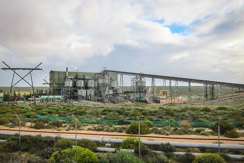 Tronox Namakwa sands (Brand se baai), mineral separation plant