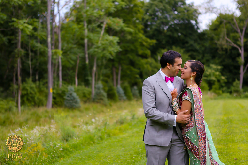 Sejal & Amit Engagement by EBM Studios