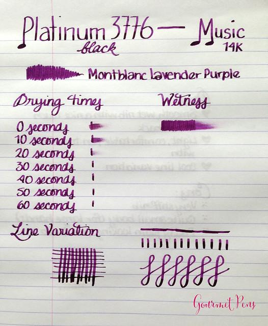 Review: Platinum #3776 Black Fountain Pen - Music Nib