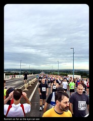 The inaugural Severn Bridge Half Marathon #severnbridgehalf #running