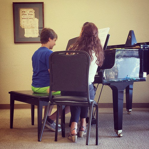 Such progress this summer!  I'm proud of my son. #summer #boys #12yearold #seventhgrade #piano #learning