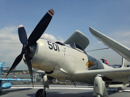 fighter plane @ USS Intrepid