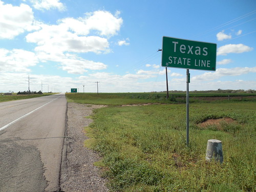 Texas State Line-100th Meridian