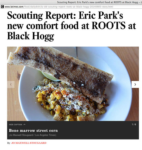 ROOTS at Black Hogg Scouting Report, L.A. Times