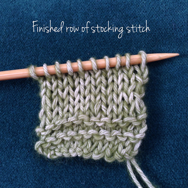 Knitting Yarn Over Continental Style : Tutorial knitting backwards crafts from the cwtch