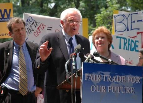 Sen Bernie Sanders in Iowa talking Presidential run