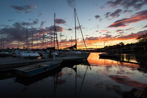 sunset canada water clouds boats novascotia ns sailboats dartmouth halifaxharbour dartmouthwaterfront alderneymarina