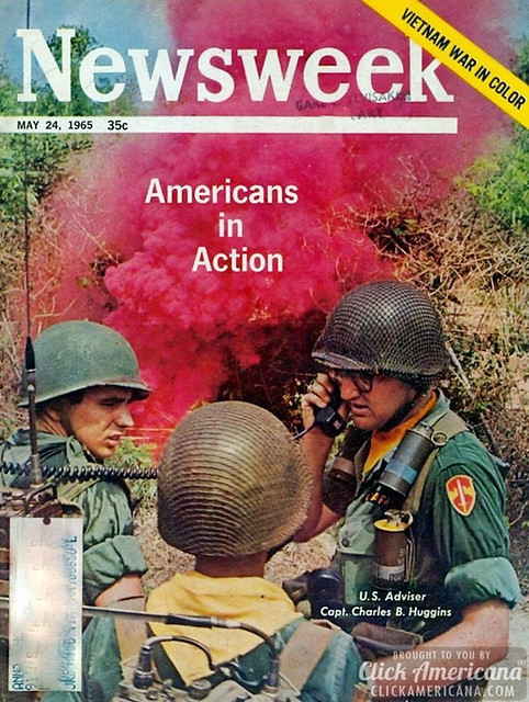 Newsweek, 05-24-1965 - Americans in action - Vietnam War in color