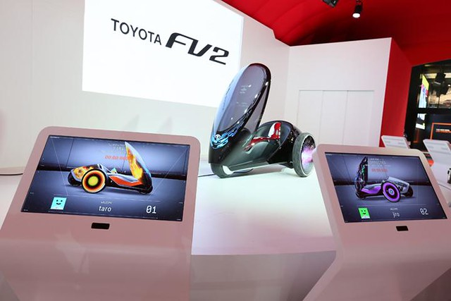 IIMS 2014 : Toyota Tampilkan Mobil Konsep FV2