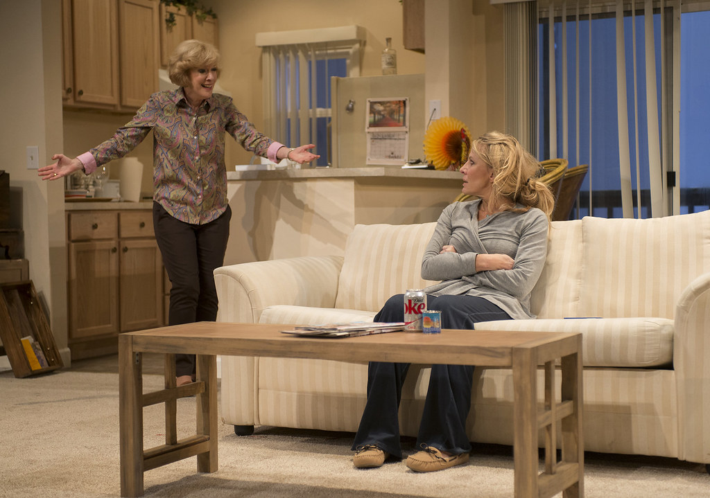 Linda Kimbrough (Judith) and Lusia Strus (Becca)
