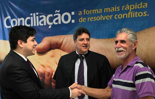 Acordos de conciliação homologados pelo TJDFT em 2014 atingiram R$ 25,2 milhões negociados