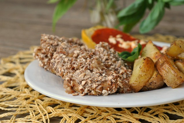 Pretzel-Crusted Honey Mustard Chicken Fingers 2