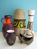 WGP Vases and mini bowl 50´s 60´s