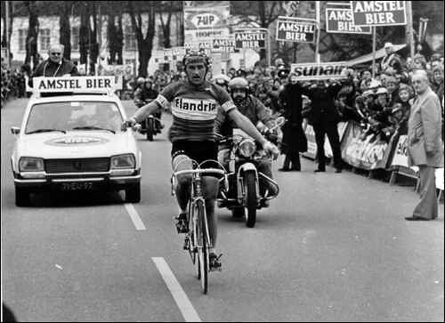 Amstel '76 - L'arrivo solitario di Maertens