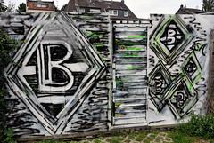 Graffiti in Mönchengladbach-Rheydt, wohl von einem Fohlen-Fan gesprüht :)