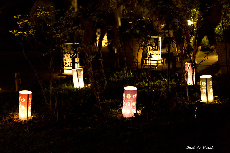 江の島灯籠2014 by Nakabo
