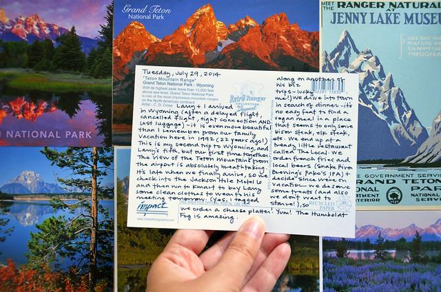 postcard albums