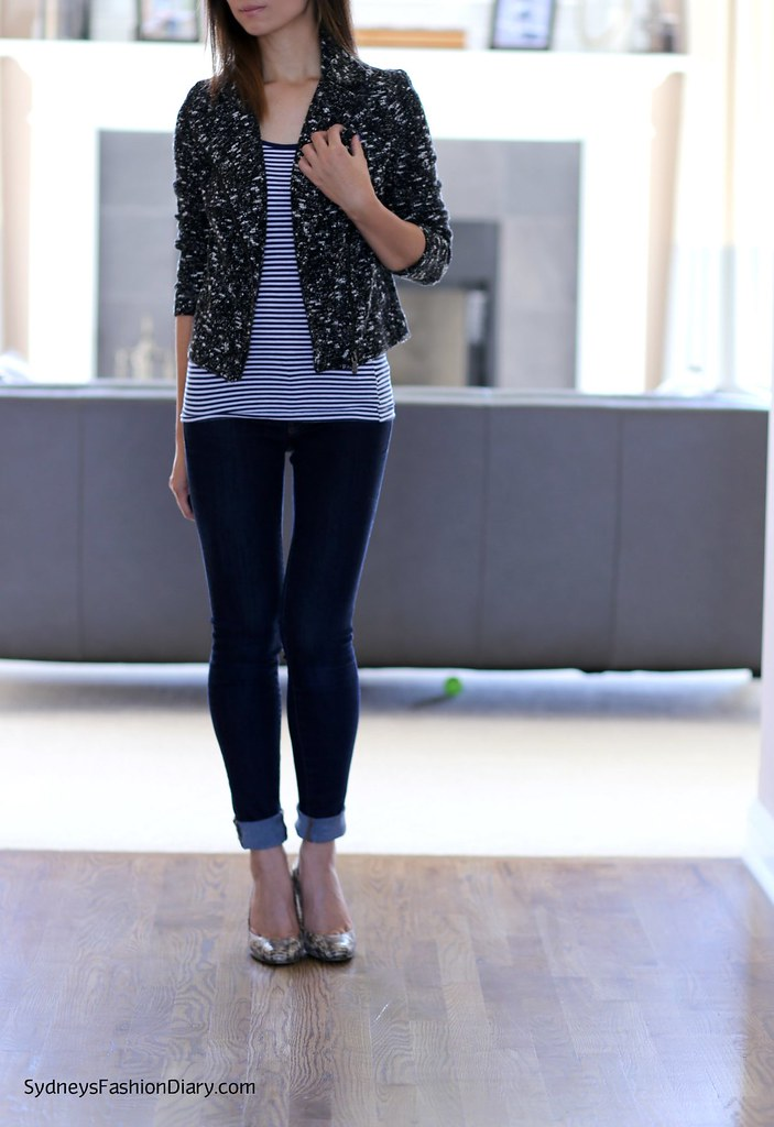 Banana Republic Petite Textured Moto Jacket