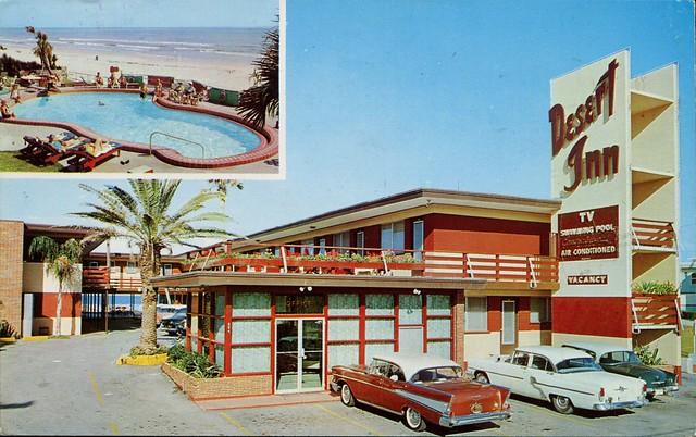 Desert Inn - Daytona Beach, Florida U.S.A. - 1950s