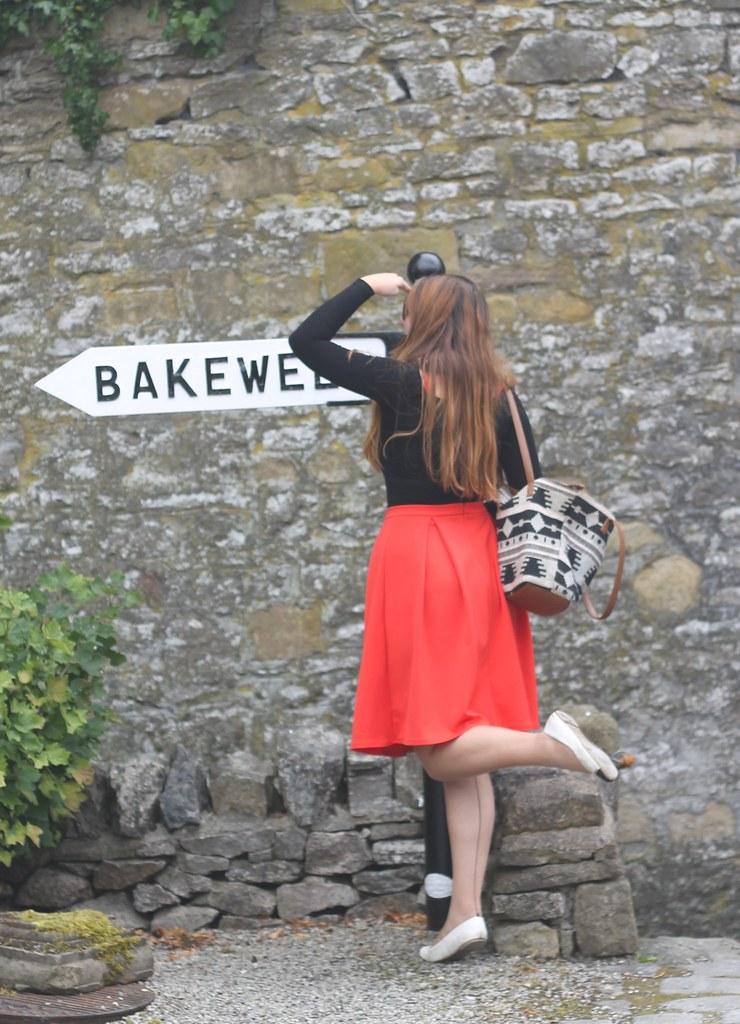 Bakewell signpost