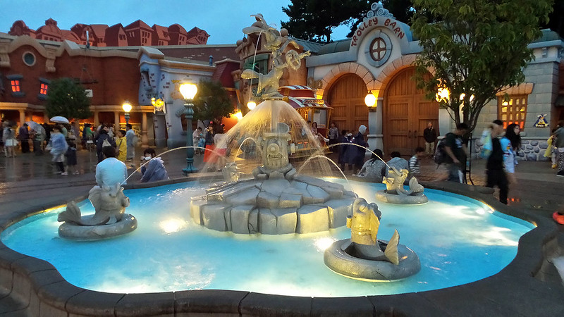 Disney Fountain