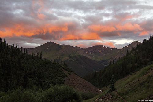 morning mountains clouds forest sunrise colorado alpine valley rockymountains fourteener peaks alpenglow sanjuanmountains handiespeak redcloudpeak canonrebelt4i
