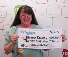 Brenda Kinney - $2,500 First Class Fortune
