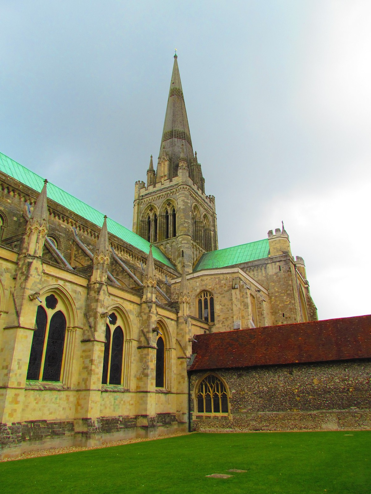 photo from walk Chichester cathedral
