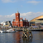 A very busy day down Cardiff Bay