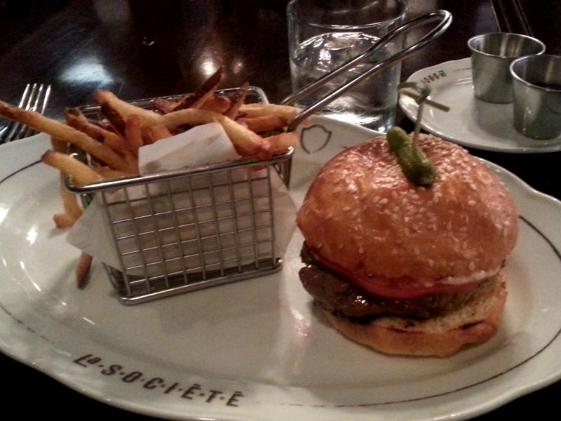 La Societe burger