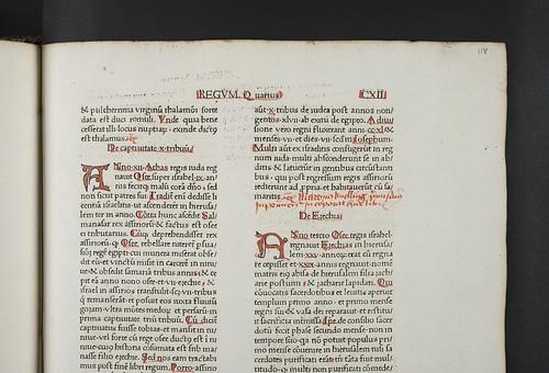 Rubricator's note in  Petrus Comestor: Historia scholastica