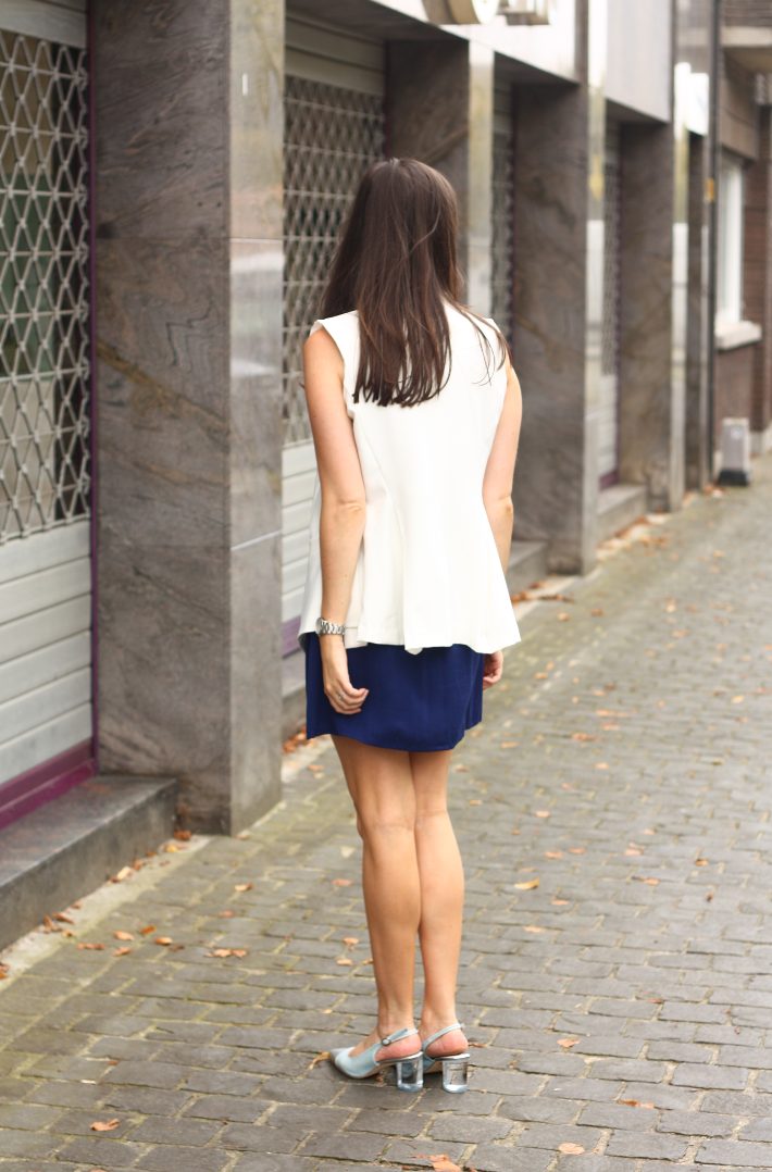 professional outfit white waistcoat slingbacks zinda
