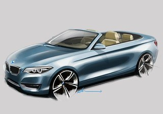 BMW 2014 Convertible sketches 70