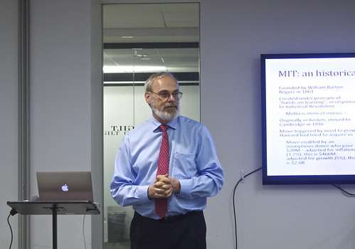W. Eric L. Grimson PhD, the Chancellor for Academic Advancement at the Massachusetts Institute of Technology, at Gilt