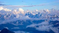 Uszba (ze Skał Pastuchova 4600m)