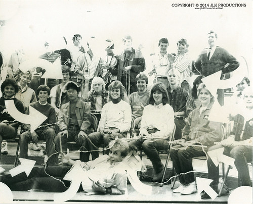 1984 MHS Band Group Pic Art Project Version 1