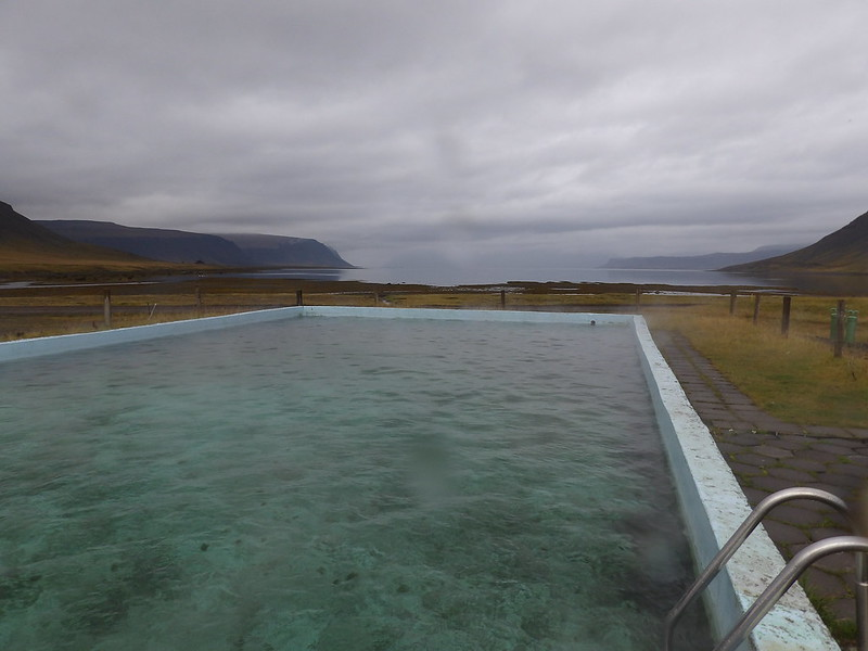 Poolside in the fjord