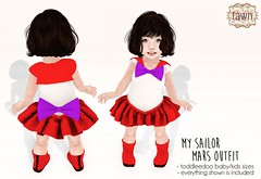 {fawn} My Sailor Mars Outfit