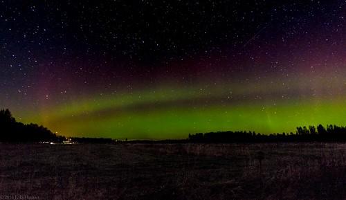 northernlights auroraborealis otava bigdipper butchers cleaver plough chariot revontulet night oudoors stars sky