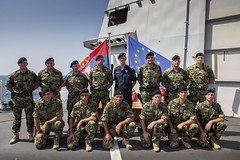 The Force Commander noted the Serbian AVPD's vital contribution to Operation Atalanta
