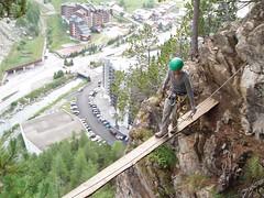 Helen walking the plank Image