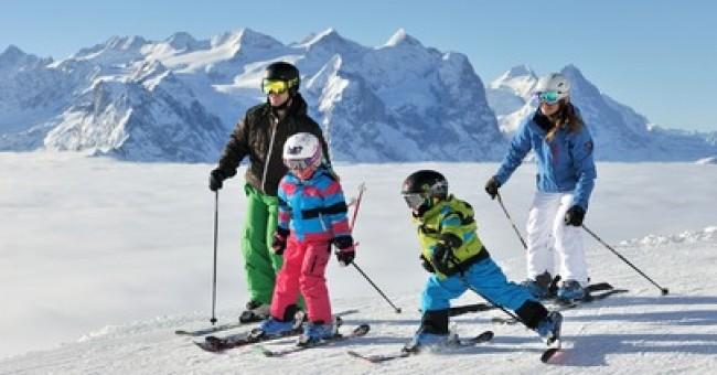 Lyžařská střediska pro rodiny s dětmi