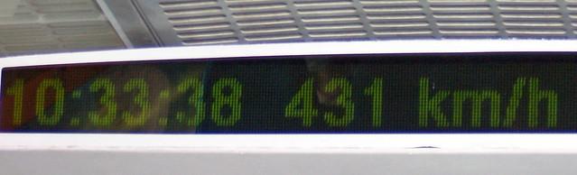 Transrapid 431km/h