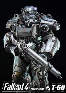 最精銳的招牌裝甲立體化!threezero 《異塵餘生4》1/6比例 T-60 動力裝甲服 POWER ARMOR